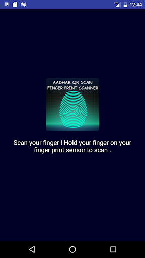Aadhaar QR-Finger Print Scaner for PC