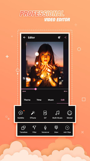 Video Editor Effects, Video Slideshow With Music for PC