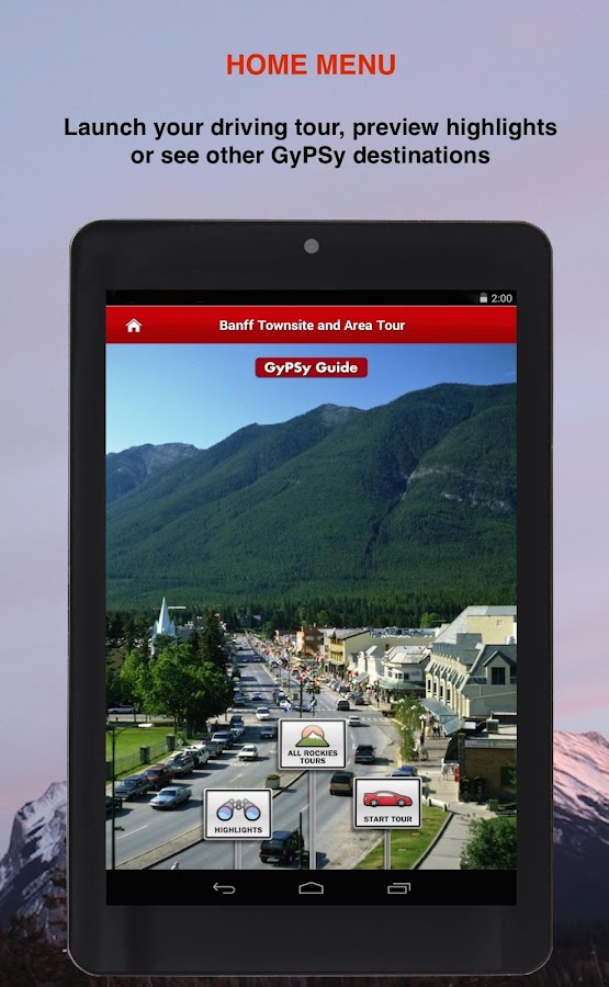 Banff Townsite GyPSy Tour- screenshot