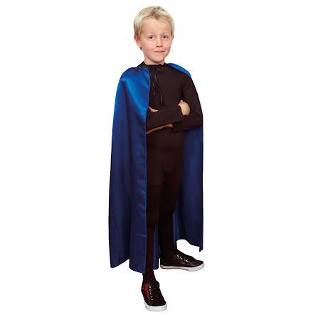 Barnmantel, 90cm blå