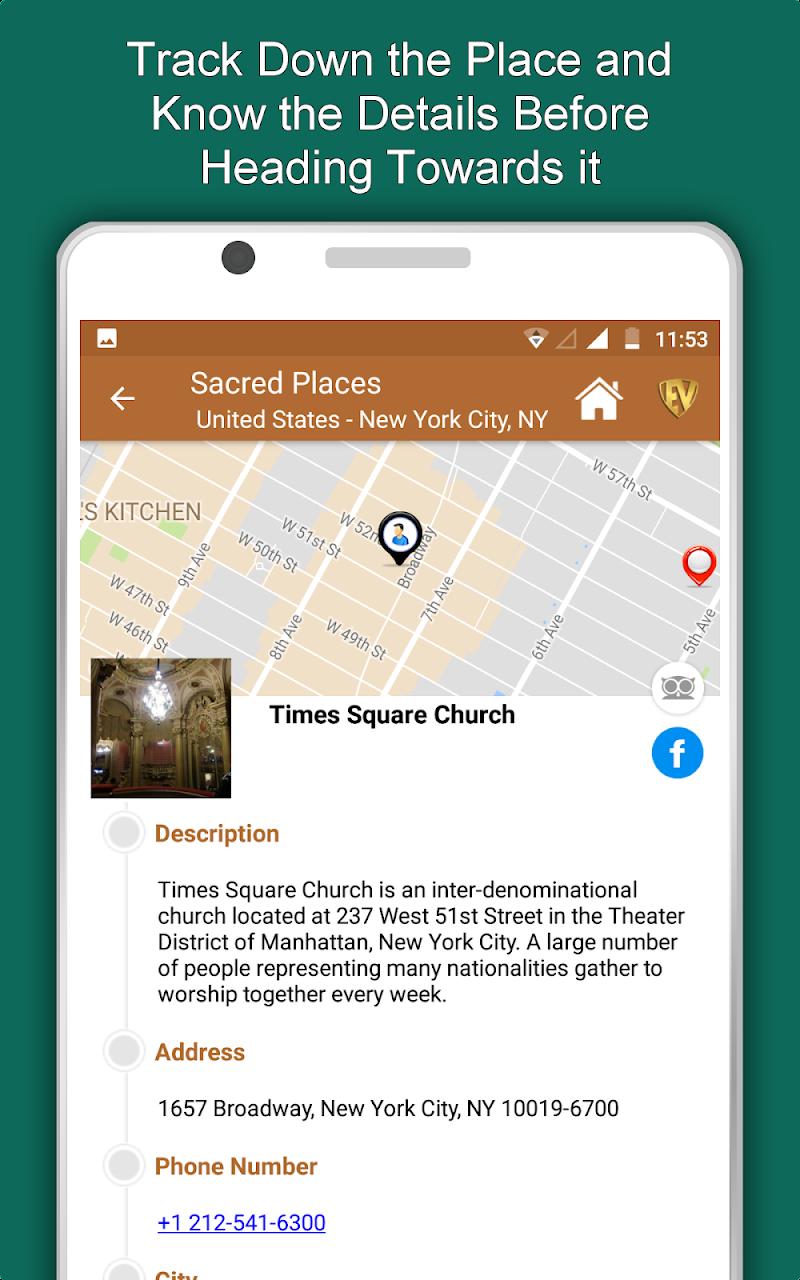 Скриншот Sacred Places- Travel & Explore