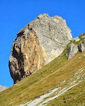Photo: Rocca Senghi: ospita una ferrata Difficoltà: TD (6b/A1 max)