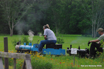 Photo: Kari Wirth adding Simpson 2-6-0 to the tripple header.  HALS-SLWS 2009-0523