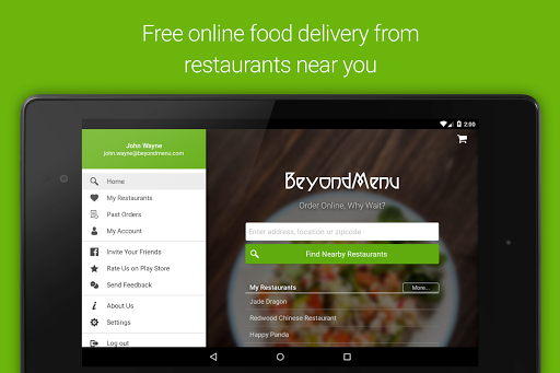 BeyondMenu Food Delivery for PC