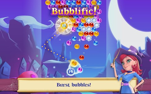 Bubble Witch 2 Saga MOD (Unlimited Lives/Boosters/Moves) 7