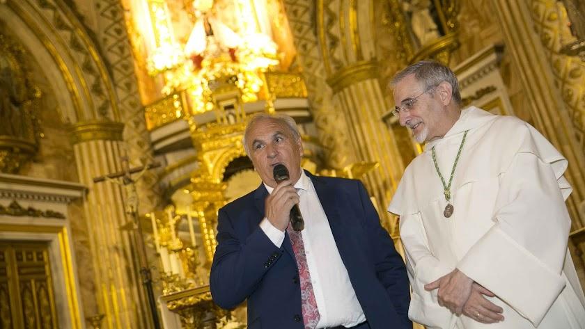 Alfonso García pedirá otro año a la Virgen del Mar.