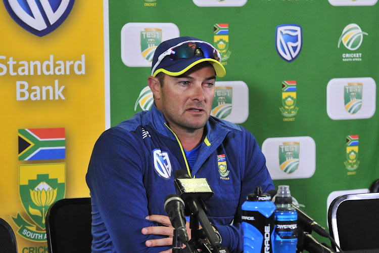 Proteas head coach Mark Boucher said the batting and fielding was not up to scratch but praised the bowling unit.