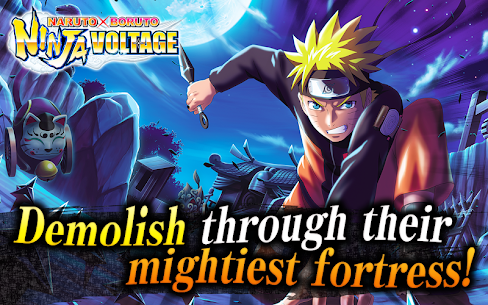 NARUTO X BORUTO NINJA VOLTAGE Mod 7.4.0 Apk [High Attack] 1