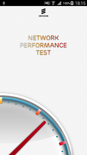 Network performance test - náhled