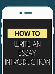 write an essay introduction   android apps on google playwrite an essay introduction  screenshot thumbnail