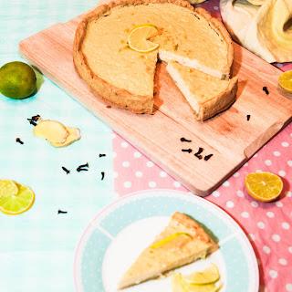 Super-Easy Lime and Ginger Tart.