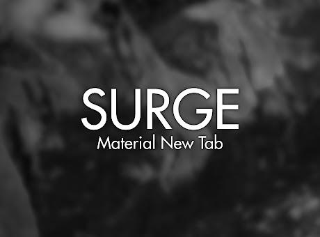 Surge - Material New Tab