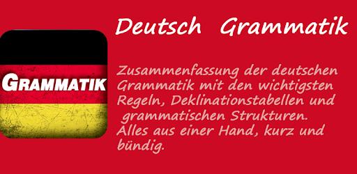 Deutsche Grammatik Apps On Google Play