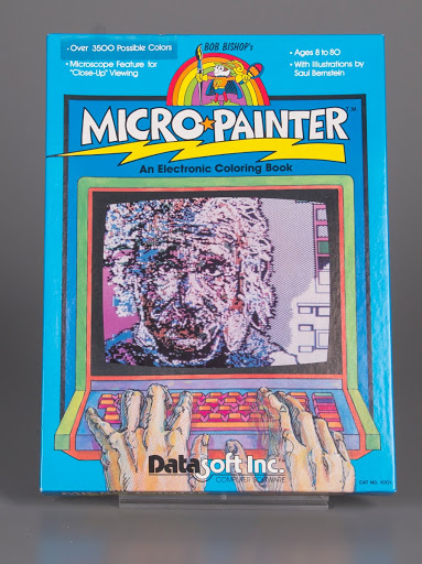 Video game | coloring book:Atari 800 Bob Bishop\'s Micro Painter: An ...
