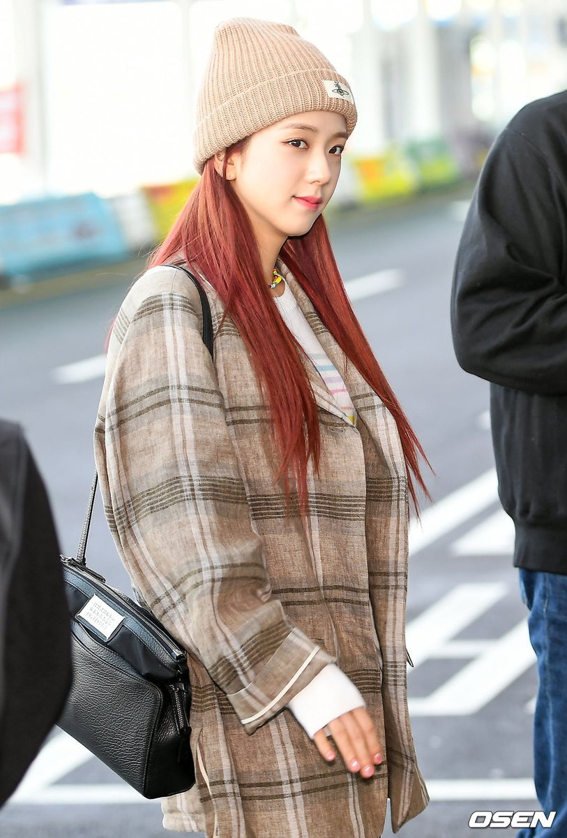 jisoo plaid 9