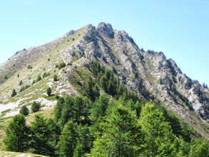 Photo: dit was( één van onze toppen) op de eerste dag : Crête de Chambrettes 2582m