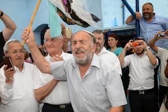 Photo: יצחק ורד (קלרה) ולצדו מאיר כרסנטי מבית הכנסת אבוהב