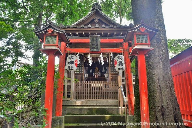 馬橋稲荷神社の厳島社・水神社