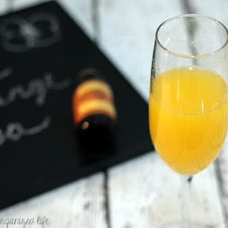 Almond Champagne Mimosa #BrunchWeek