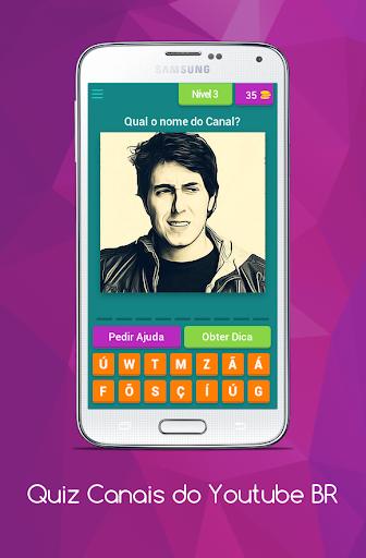 Quiz Canais Youtubers Brasil 8.5.1z screenshots 4