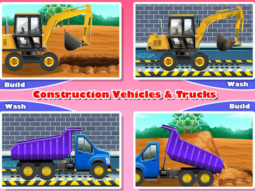 Construction Vehicles & Trucks - Games for Kids 1.8.1 screenshots 9