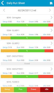 Kiwiplan Mobile App - náhled