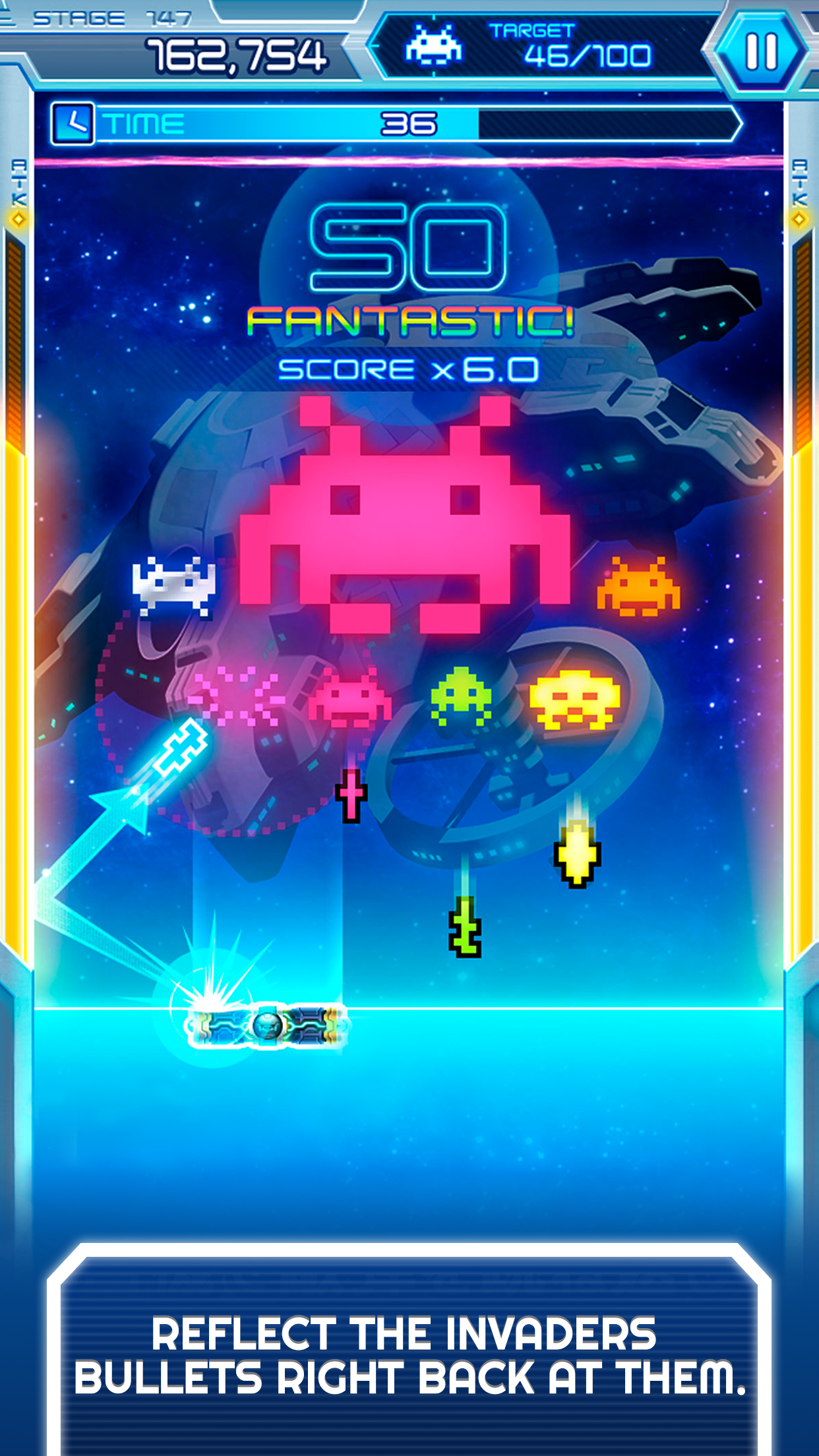 Arkanoid vs Space Invaders screenshot #2