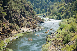 Photo: White water rafting along the wild and scenic Rogue River in southern Oregon.