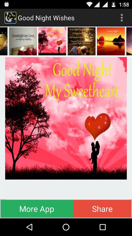 Good night wishes android apps on google play good night wishes screenshot altavistaventures Images
