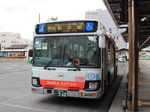 奈良交通「八木新宮線」 ・960 八木駅にて その4