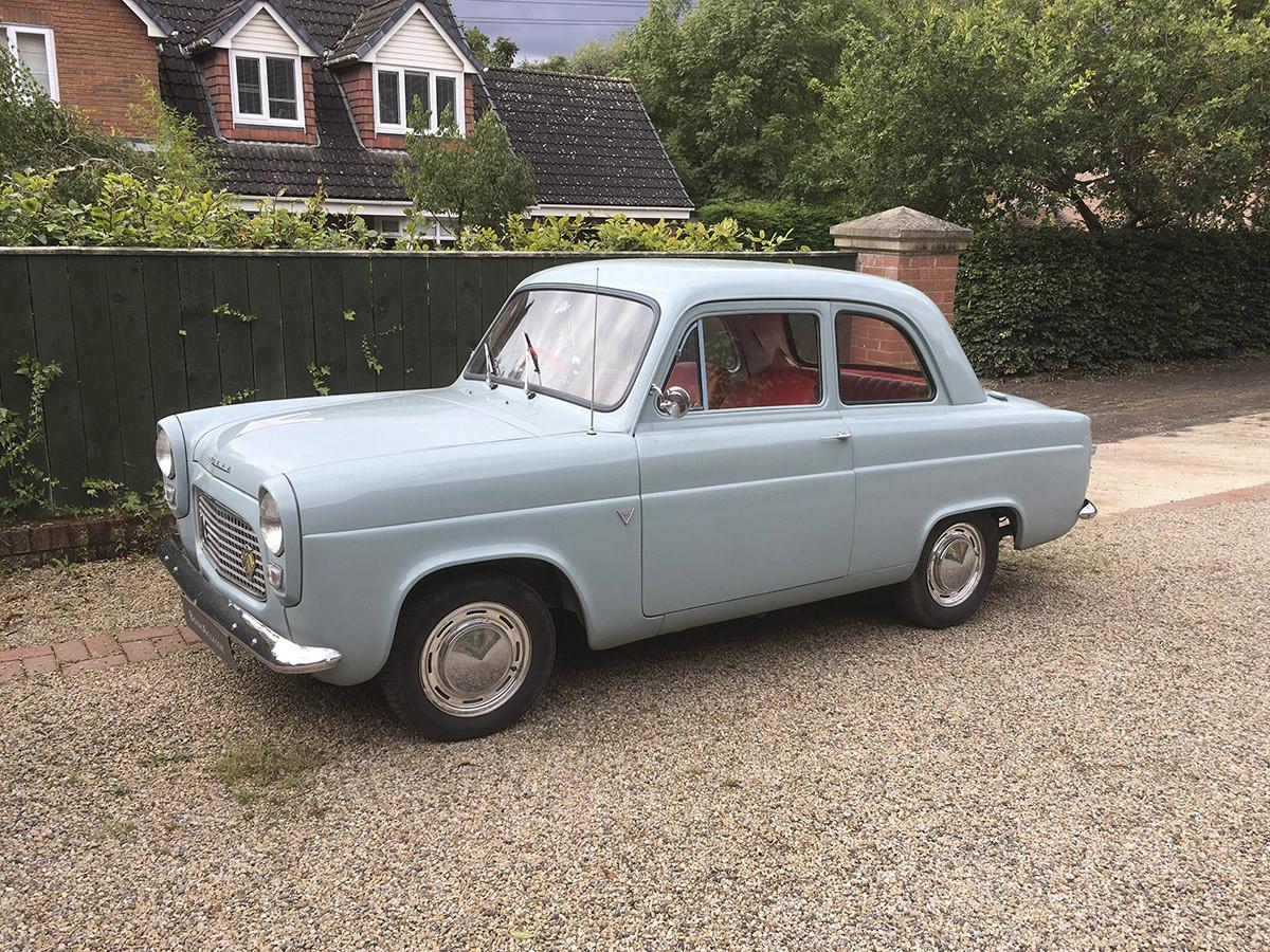Ford 100e Anglia Hire Eaglescliffe