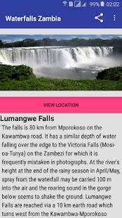 Waterfalls Zambia - náhled