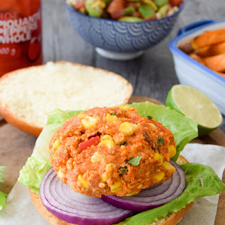 Mexican Salmon Burgers