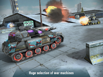 Iron Tanks: Online Battle- screenshot thumbnail