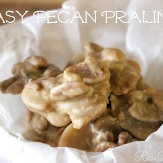Easy Pecan Pralines