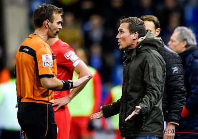 """Genk-coach Wolf haalt uit na nederlaag tegen Standard: """"Ongelofelijk dat ze deze wedstrijd uitspelen met elf: hij had zijn been kunnen breken"""""""
