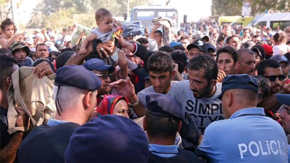 Balkan nations confront influx of migrants and EU indifference