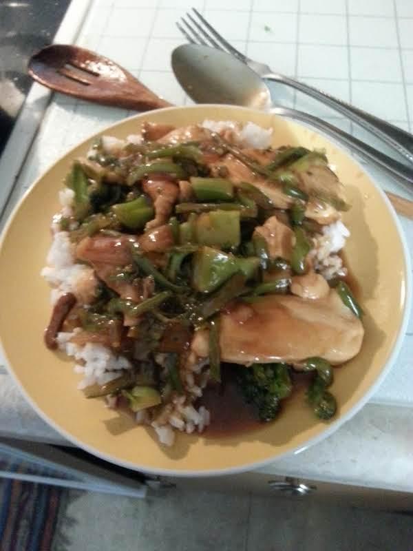 David's Simple Stir-fry Recipe