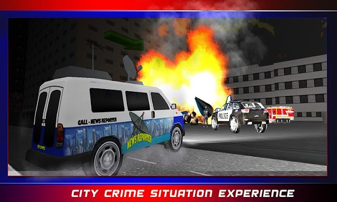 Crime Reporter City Driver 3D - screenshot