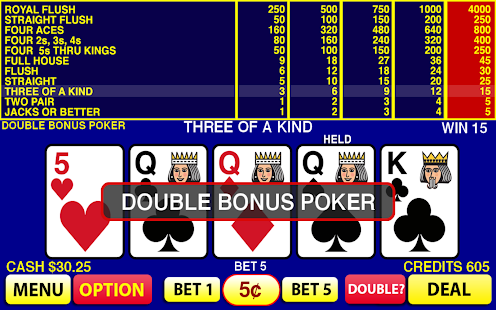 Double Bonus Poker - Online Video Poker - Rizk Casino