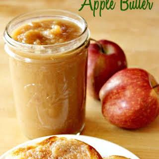 Easy Crockpot Apple Butter.