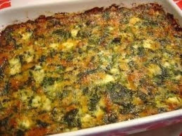 Spinach-cheese Casserole Recipe
