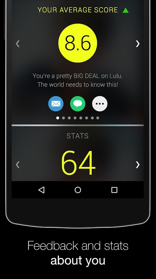 Lulu -- Dating Intelligence- screenshot