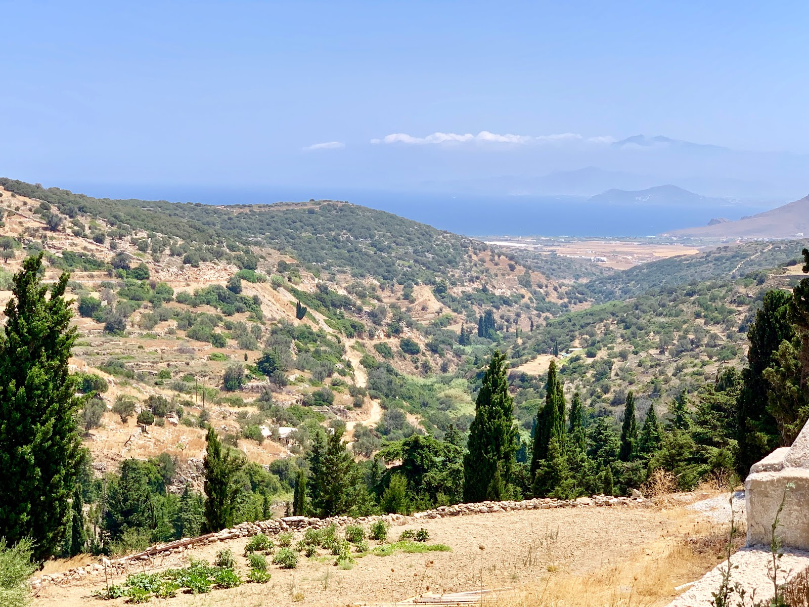 Lefkes Paros - how to visit; 2 days in Paros