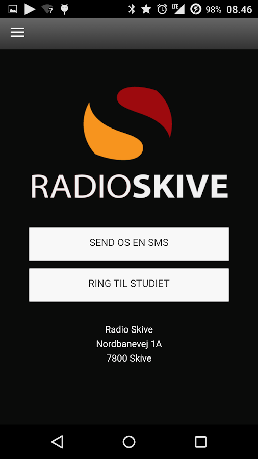 Radio Skive – screenshot