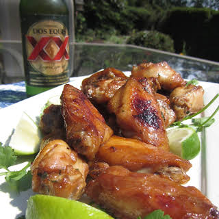 Succulent Soy Ginger Chicken Wings.