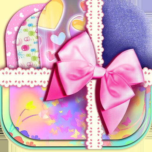可爱的动态壁纸女孩 個人化 App LOGO-硬是要APP