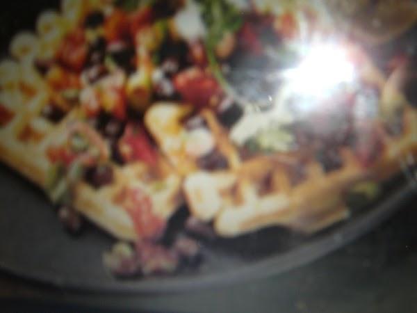 Corn Waffles With Mozzarella And Summer Salsa Recipe