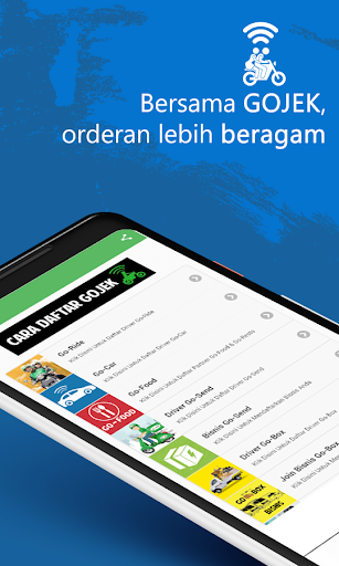 Join Driver Gocar Gojek Guide Terbaru 3.0.0 screenshots 1