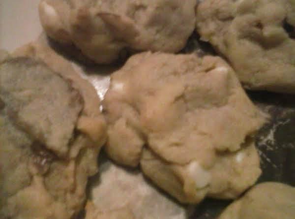 White Chocolate Suprise Cookies